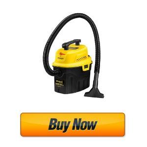 Stanley 3 Gallon Wet Dry Vacuum, 3 Peak HP Poly 2 in 1 Shop Vac