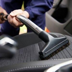 vacuuming for car