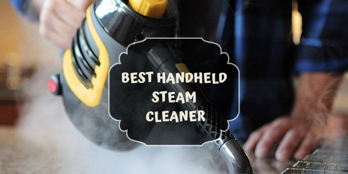 Handheld Steam Cleaner for grout cleaning