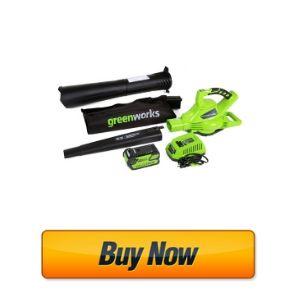 Greenworks 40V 185 MPH Variable Speed Cordless Leaf Blower