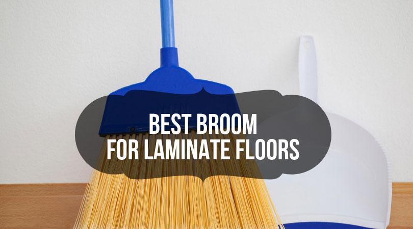 Laminate and Hardwood Floors Broom