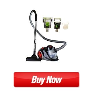 Ovente Bagless Canister Cyclonic Vacuum with HEPA Filter (ST2010)