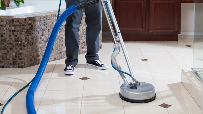 tile and grout cleaning machine for home use
