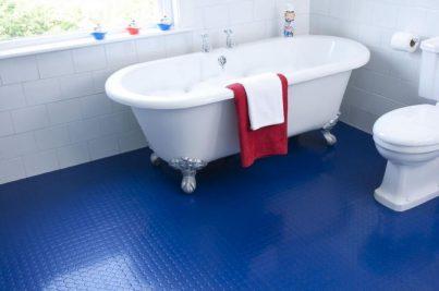 Waterproof Rubber Flooring For Bathrooms