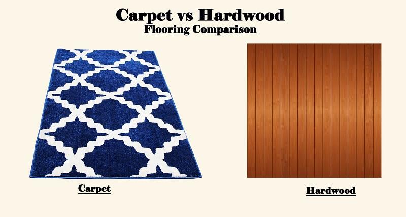carpet vs hardwood in bedrooms