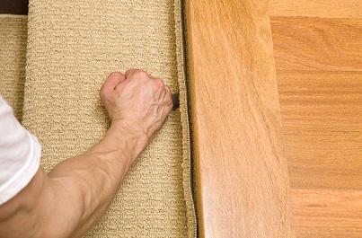 carpet floor installation