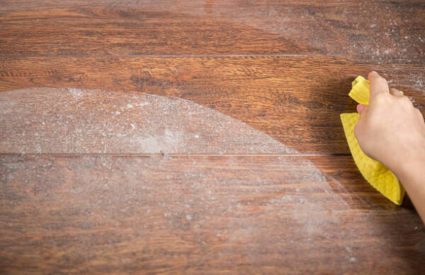 hardwood floor cleaning solution