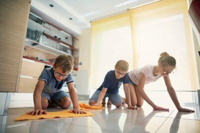 ceramic floors cleaning