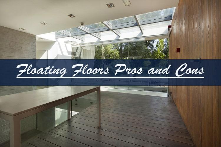 floating floor waterproof