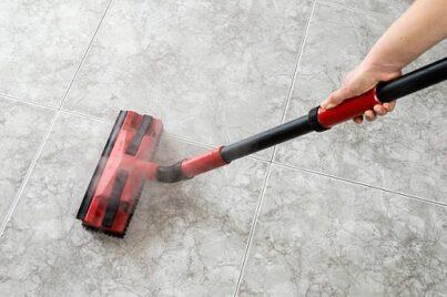 steam clean ceramic tile floor