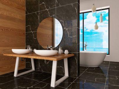 Waterproof Ceramic Tile For Bathroom