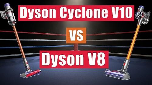 Dyson V8 Vs V10