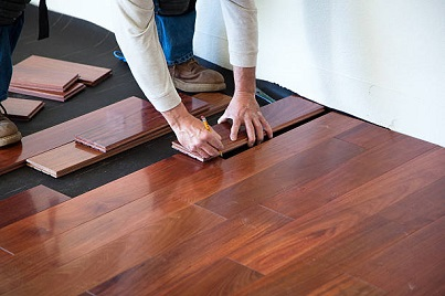 hardwood floor installation process