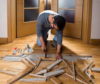 laminate floor repairs