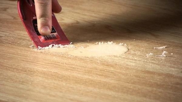 How To Get Wax Off Hardwood Floor