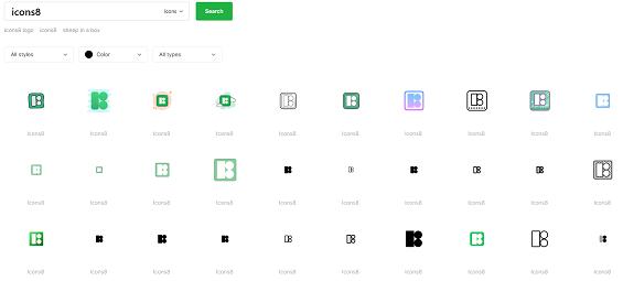 Icons8 free icons