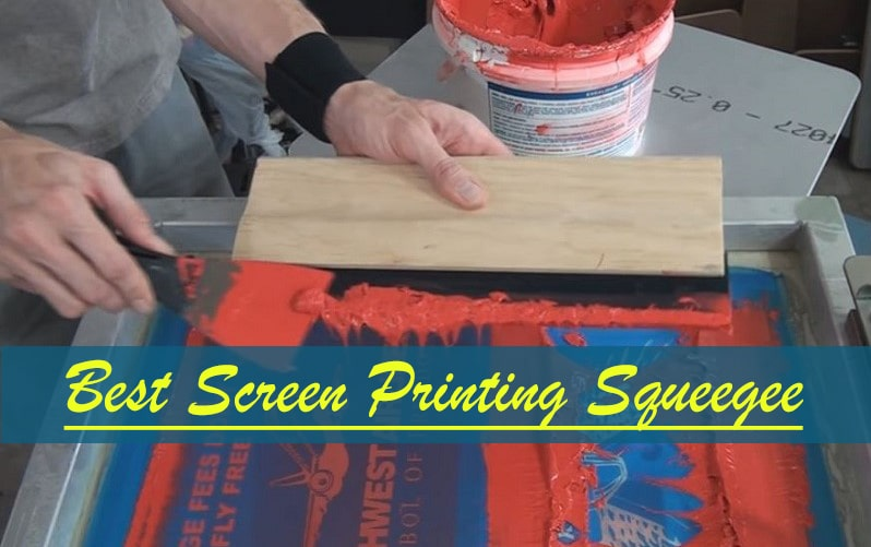 best squeegee for screen printing