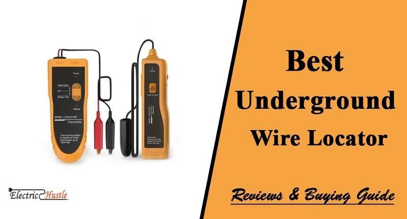 underground wire locator tool
