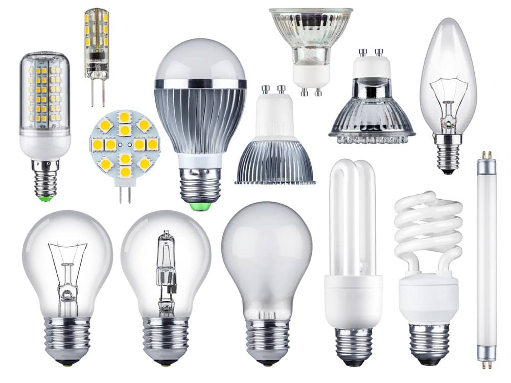 different bulb types
