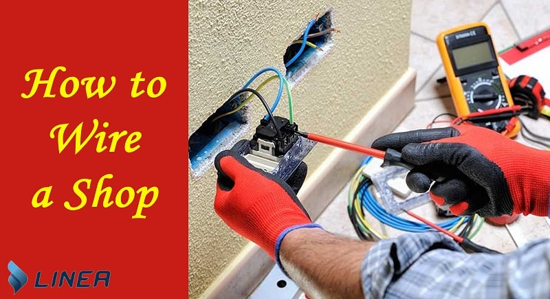 how to wire a shop for electricity