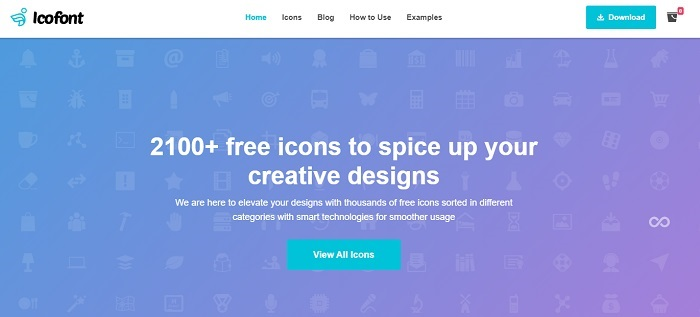 icon font download