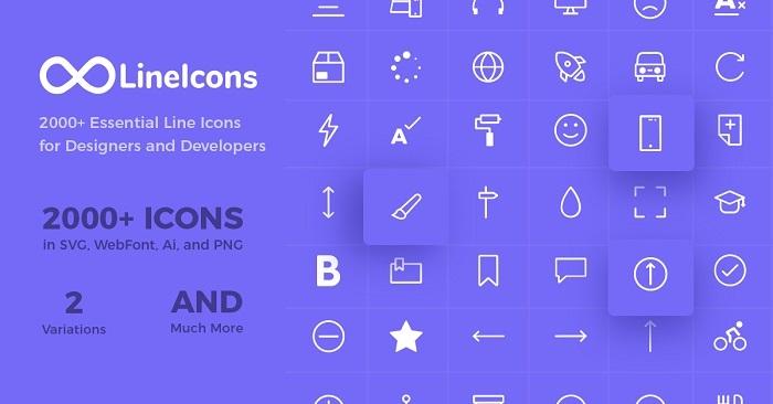 line icons flutter